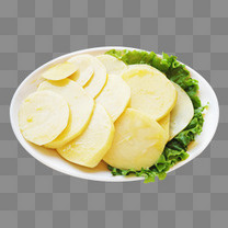 烤土豆片生菜