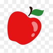 矢量卡通苹果