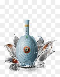 白酒酒水特效素材