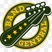 音乐logo矢量素材