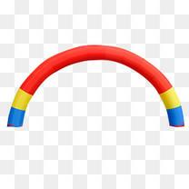 拱形气球门素材图片