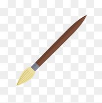 毛笔矢量素材