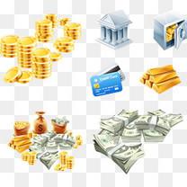 金融货币矢量