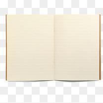 翻开的书页填写笔记