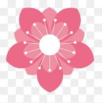 樱花矢量素材