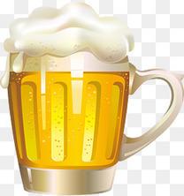手绘酒水啤酒
