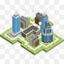 立体城市建设模型