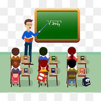 数学老师上课