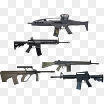 各种现代化战争武器枪类