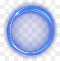 炫酷科技装饰光圈矢量素材