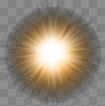 圆形光效光晕