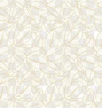黄色线条树叶
