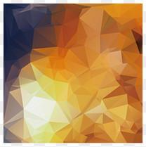 缤纷炫彩几何三角菱形背景图案图片