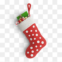 产品实物圣诞袜