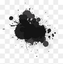 抽象黑色水花