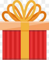 矢量红色礼品盒子