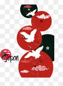 传统的日本伞