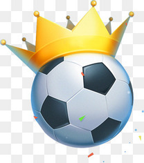 足球上的皇冠
