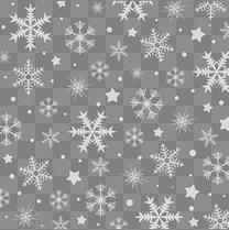 灰色雪花背景