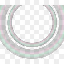 多彩渐变圆圈