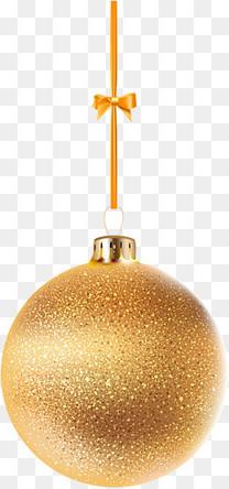 金色闪耀圣诞球