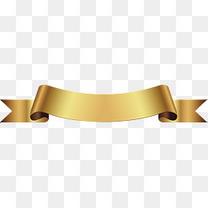 矢量金丝带