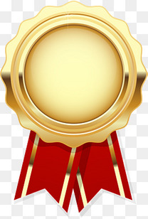 金色闪耀勋章奖牌