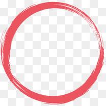 毛笔圆环椭圆圆环