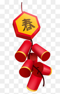 新年春节鞭炮挂饰
