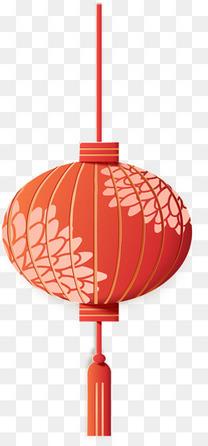 矢量中国风新年装饰灯笼