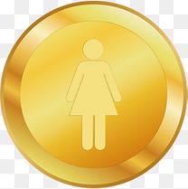 立体金币卡通金币堆