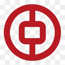 红色圆形中国银行logo