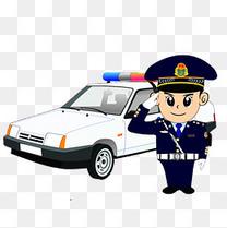 中小学安全教育日警察
