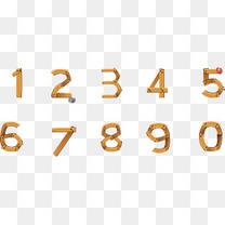 矢量图水彩数字合集