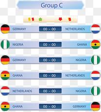 世界杯分组情况表