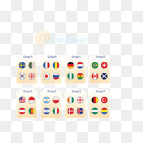 国旗符号世界杯分组