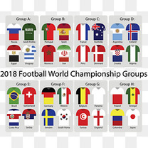 彩色球衣世界杯分组
