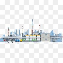 矢量图工厂产业区
