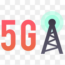 5G网络卡通插画