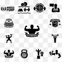健身logo图标
