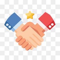 签合同商务握手合作