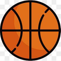 体育篮球免抠图标