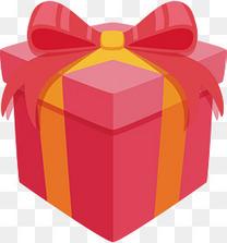 卡通礼物盒矢量图下载