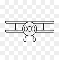 军用飞机装饰素材图案