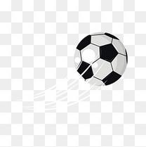 卡通足球矢量图下载