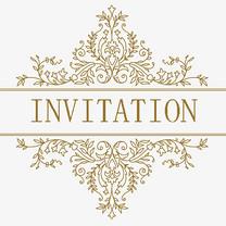 INVITATION邀请函千库原创艺术字