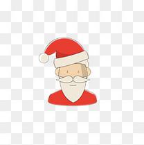 圣诞老人卡通图标