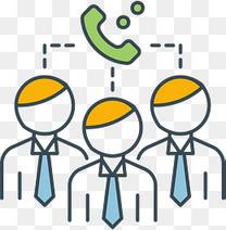 电话会议设计图标