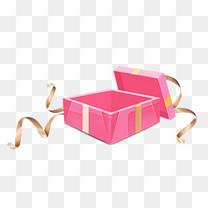 双十一C4D立体礼盒装饰