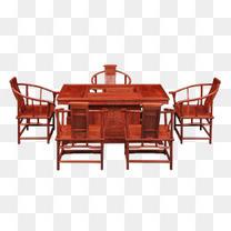 实物红木家具实木家具餐桌餐椅